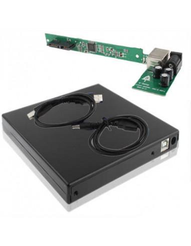 ADAPTADOR CARGADOR COCHE MECHERO USB 5V 1A NEGRO
